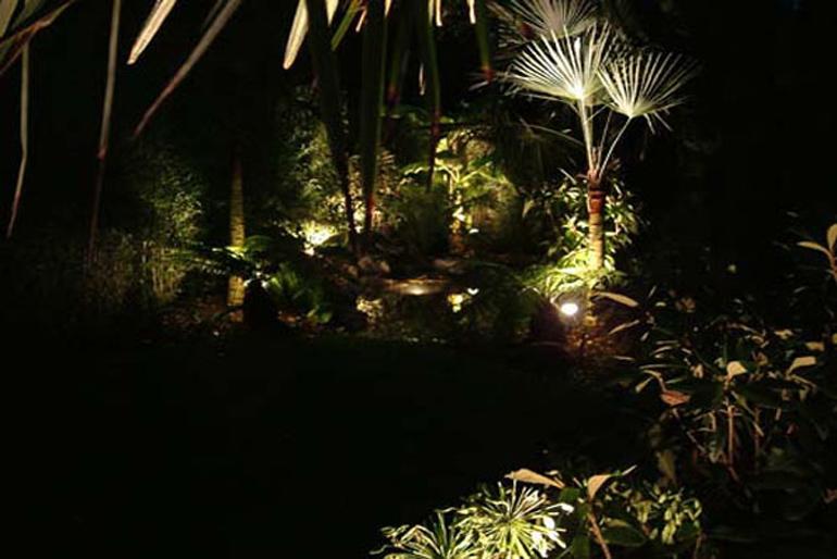 Roof Garden Lighting