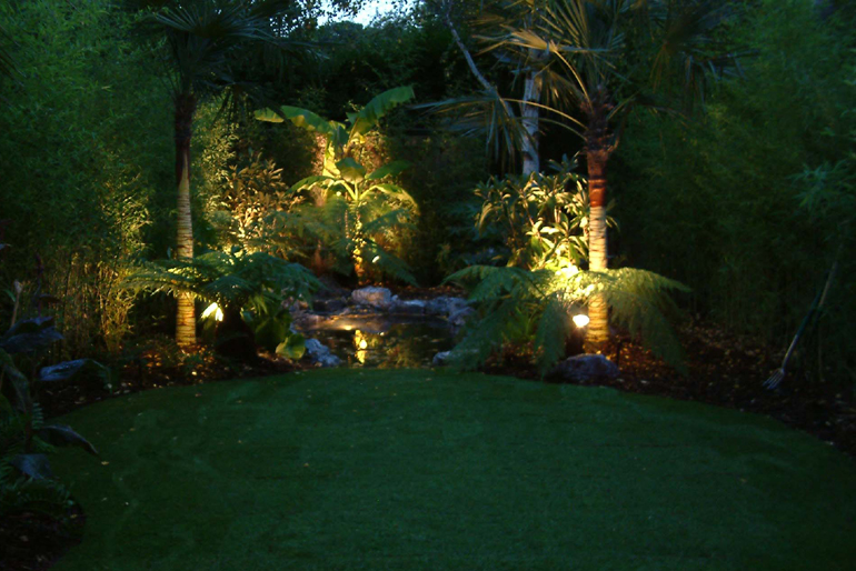 Exotic Garden Lighting London| Urban Tropics