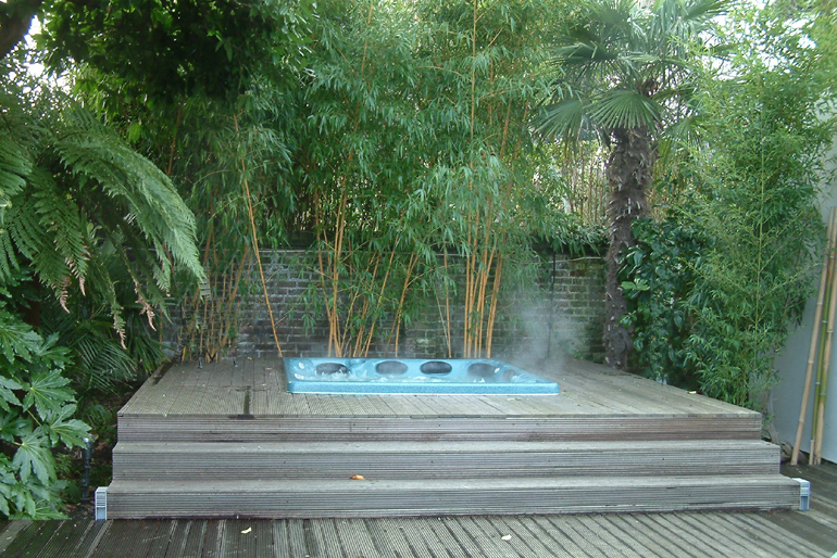sub tropical garden design london urban tropics